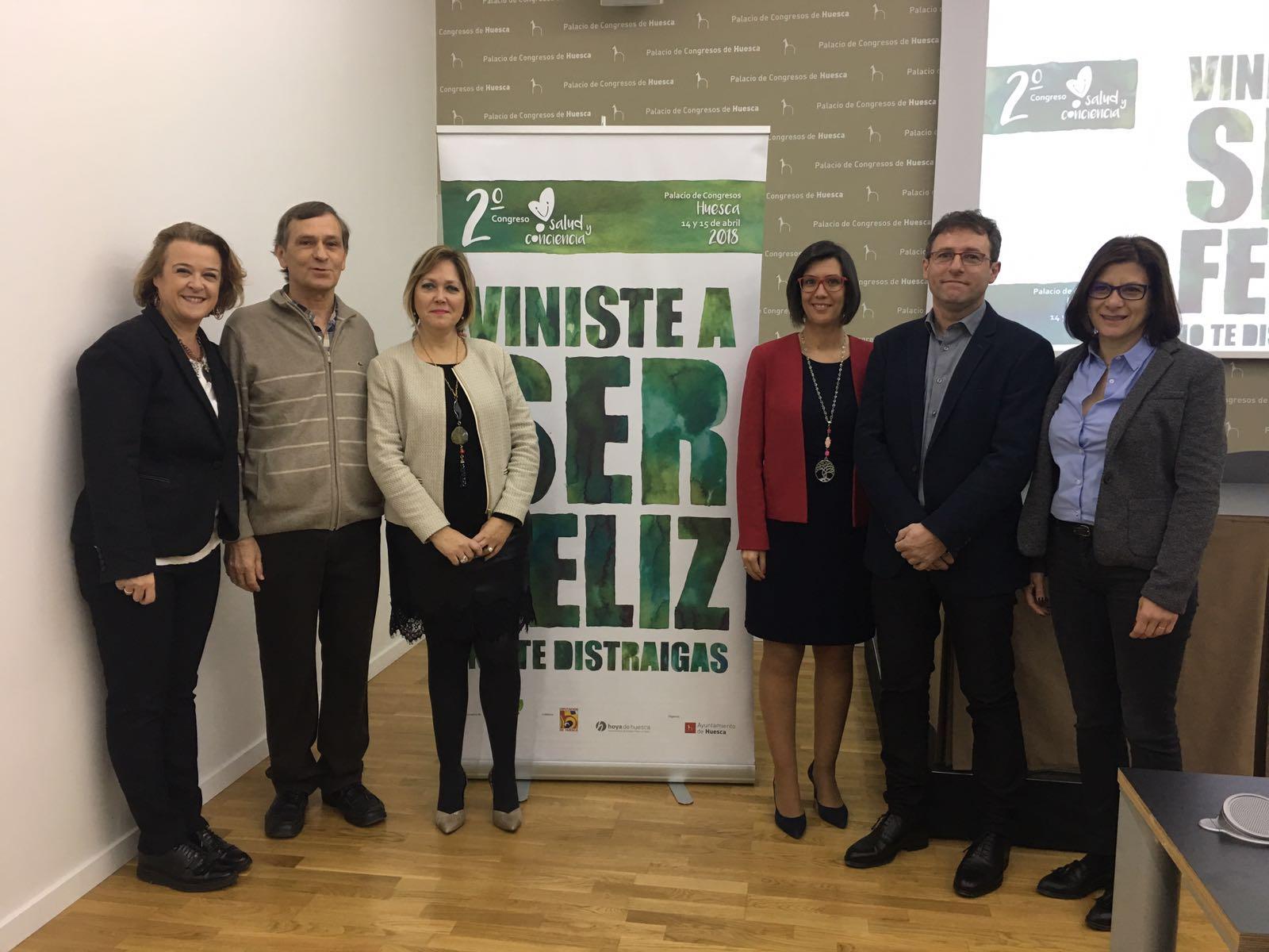 El II Congreso Salud Y Conciencia Reunirá En Huesca A Seis Ponentes De Prestigio Internacional Para Ofrecer Prácticas Que Mejoren El Bienestar Y La Atención Plena Al Momento Presente